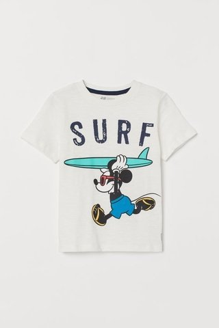 Camiseta Mickey Mouse H&M London