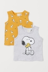Kit 2 Camisetas Snoopy for H&M London
