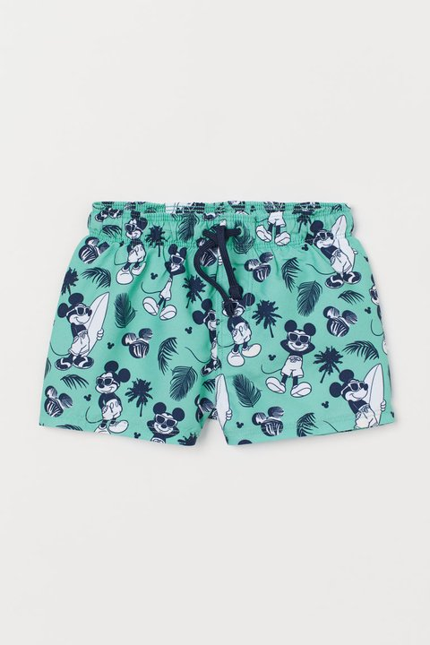 Bermuda Praia Mickey Mouse for H&M London