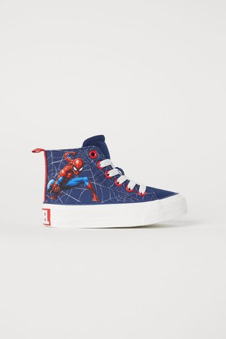 Tenis Spiderman for H&M London