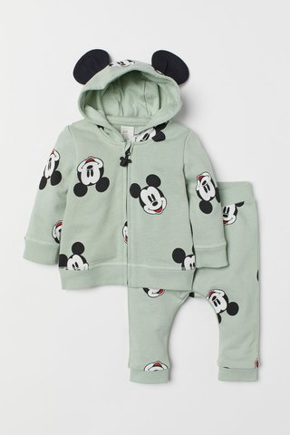 Kit 2 Peças Mickey Mouse for H&M London