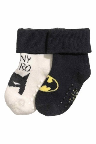 Kit 2 Meias Batman H&M London - comprar online