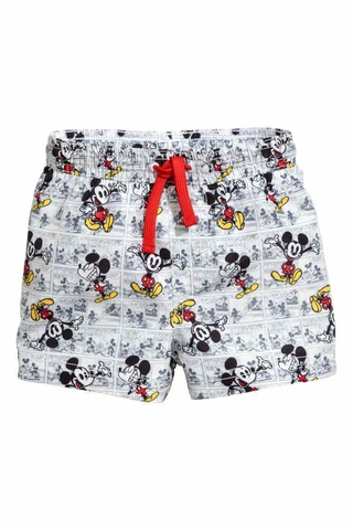 Bermuda Mickey Disney Praia for H&M London