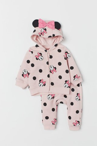 Kit 2 Peças Minnie Mouse H&M London