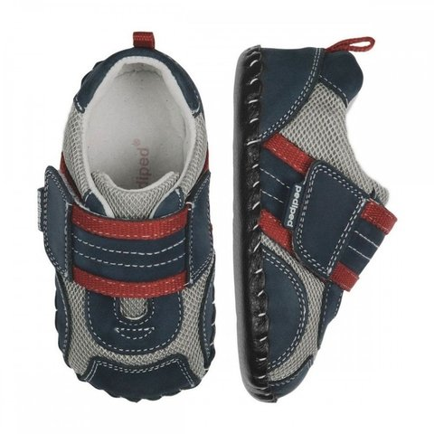 pediped Originals Adrian (Navy Grey Red) - comprar online