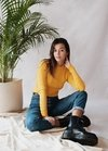 Sweater Franca - Amarillo