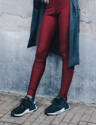 Legging Bordeaux