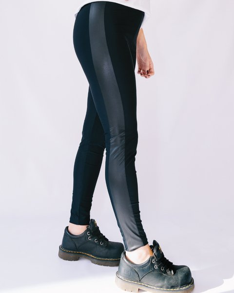 Legging Black Stripe