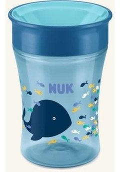Vaso Nuk Bebe Magic Cup 250 Ml +8 Meses 360 Antigoteo Vasito - comprar online