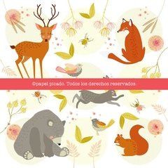 "Packs ""Animales"" - Papel Picado"