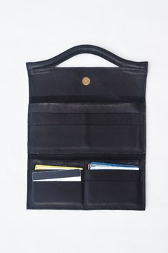 Billetera Geometric Color Negro - comprar online