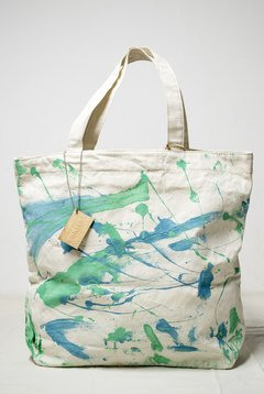 Tote Bag Hand Painted