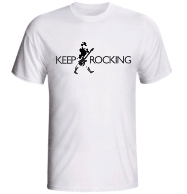 CAMISETA KEEP ROCKING - comprar online