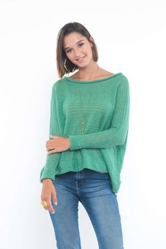 SWEATER MELIQUINA AQUA
