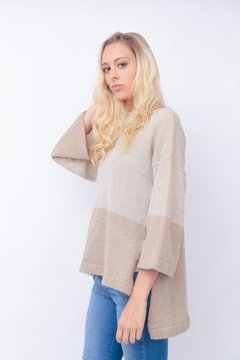 Sweater Incahuasi #6 Camel y crudo