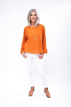 Sweater Luz Naranja en internet