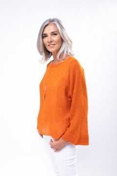 Sweater Luz Naranja