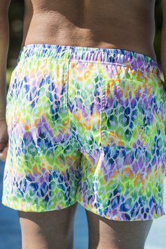 Leopard-Fluo Short Hombre on internet