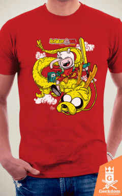 Camiseta Adventure Ball - by Cardosonot | www.geekdomstore.com