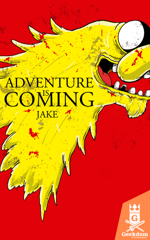 Camiseta Adventure is Coming - by Cardosonot