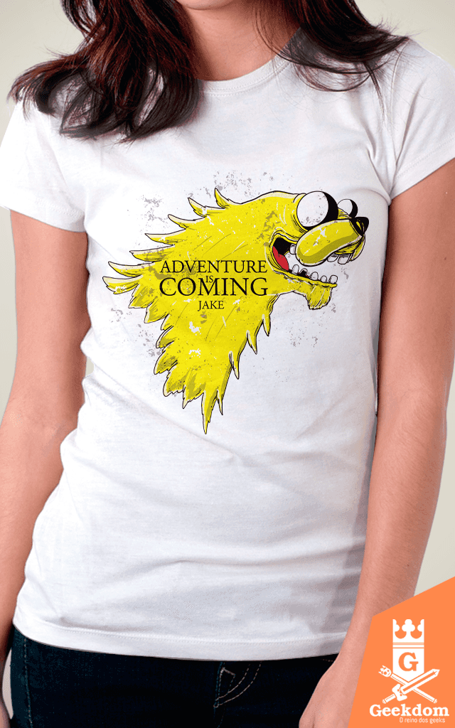 Camiseta Adventure is Coming - by Cardosonot | www.geekdomstore.com