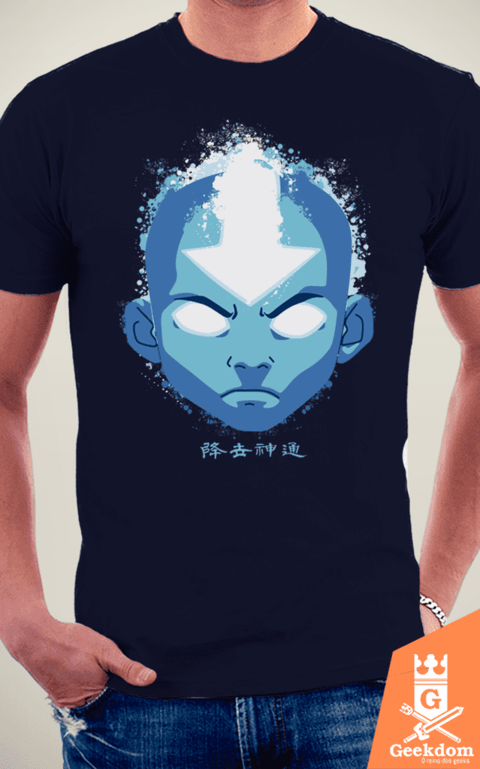 Camiseta Avatar - Aang Estado Avatar - by Cardoso