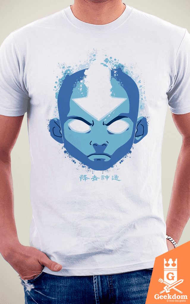 Camiseta Avatar - Aang Estado Avatar - by Cardoso na internet
