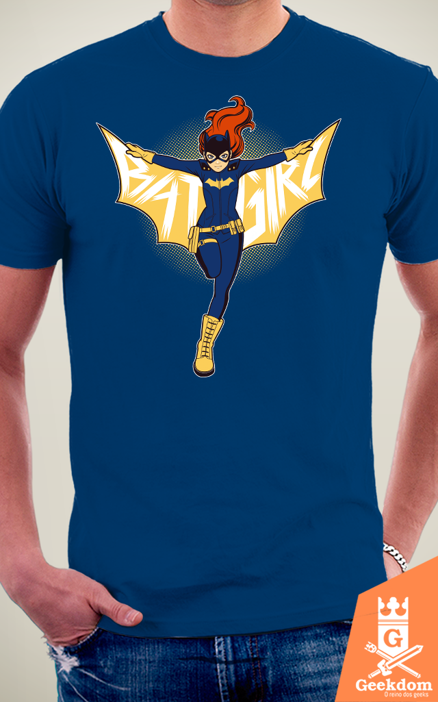 Camiseta Batgirl - by H. Heal na internet