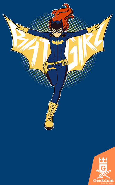 Camiseta Batgirl - by H. Heal