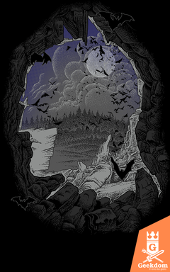 Camiseta Batman - Batcaverna - by RicoMambo