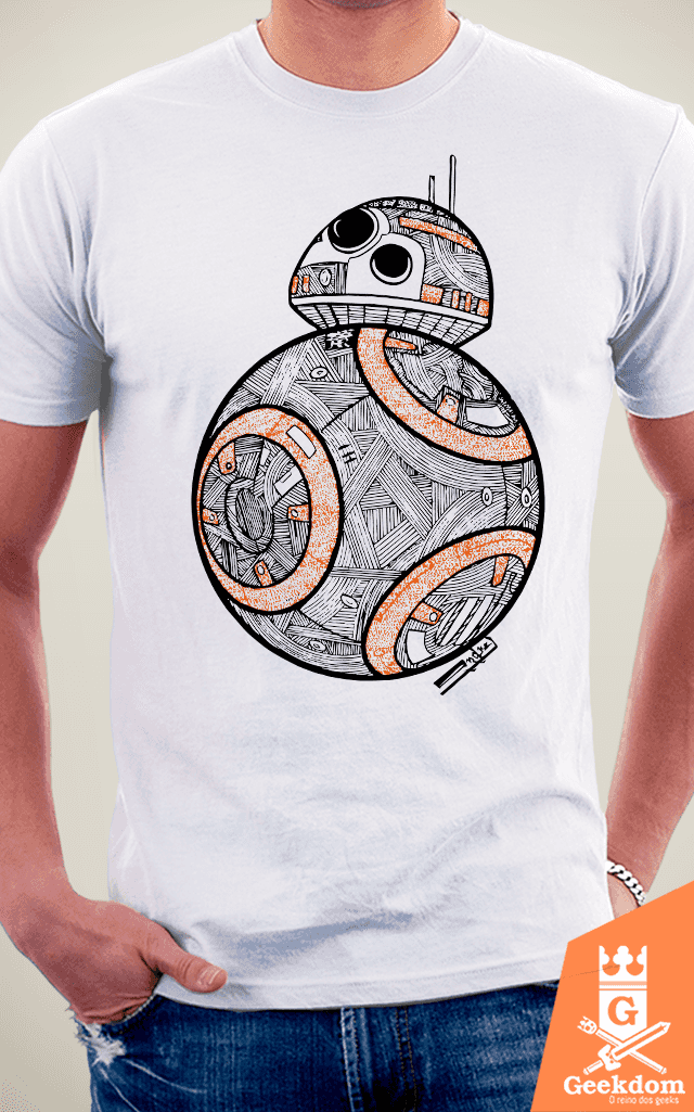 Camiseta Star Wars - BB8 - by Andrei na internet