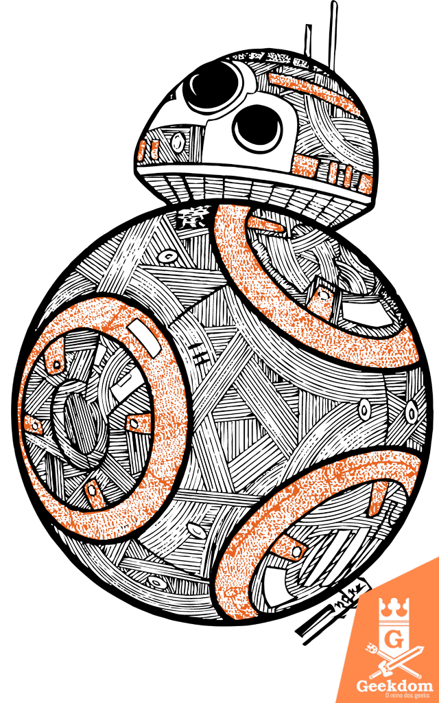 Camiseta Star Wars - BB8 - by Andrei