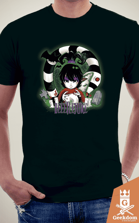 Camiseta Besouro Suco - Beetlejuice! - by PsychoDelicia na internet