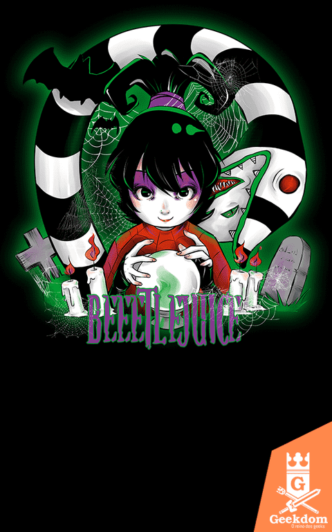 Camiseta Besouro Suco - Beetlejuice! - by PsychoDelicia