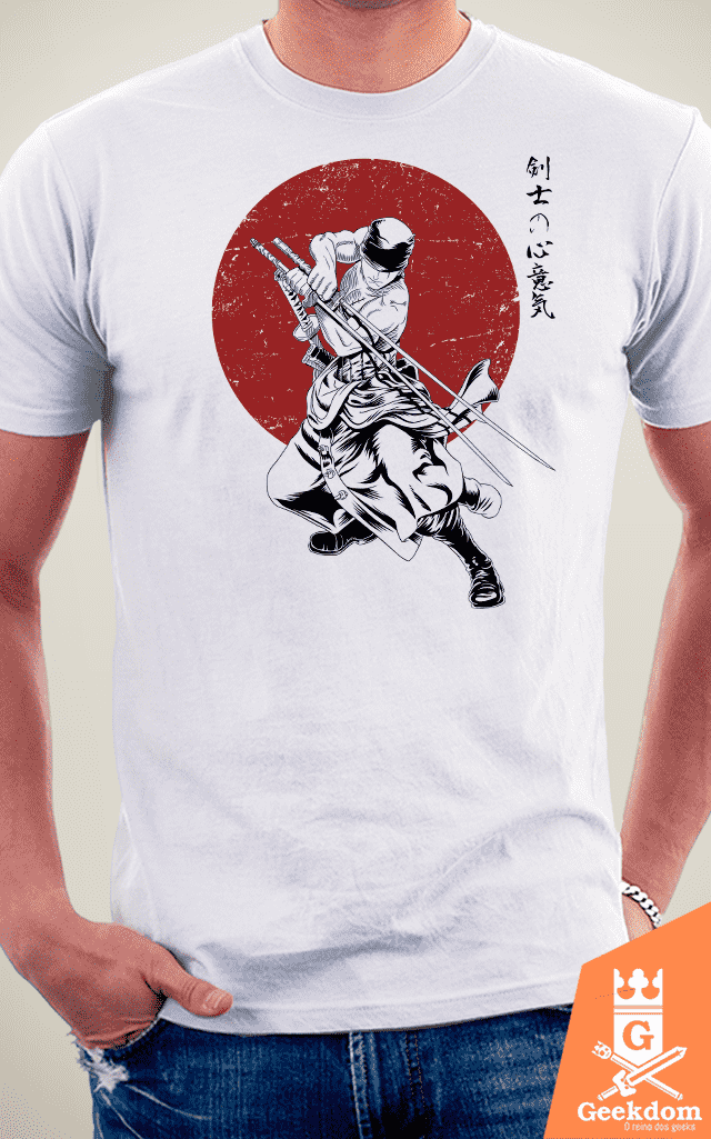 Camiseta One Piece - Mestre Espadachim - by Ddjvigo na internet