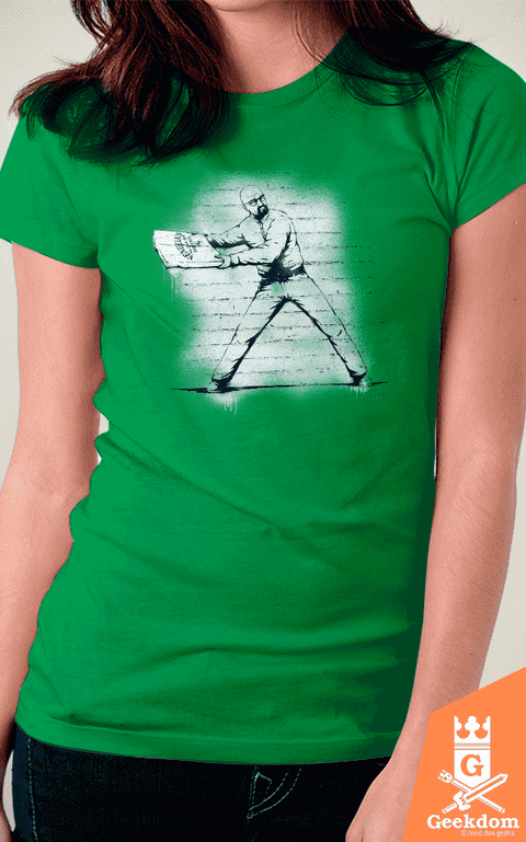 Camiseta Breaking Bad - Atirador de Pizza - by Pigboom - comprar online