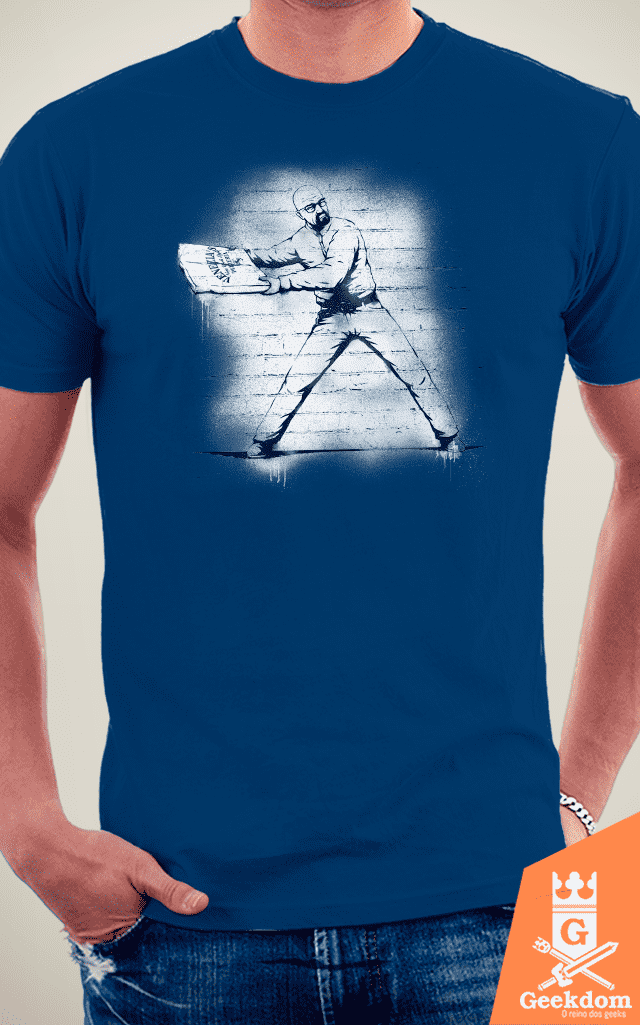 Camiseta Breaking Bad - Atirador de Pizza - by Pigboom - loja online