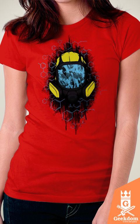 Camiseta Breaking Bad - Cristalino - by Pigboom - Geekdom Store - Camisetas Geek Nerd