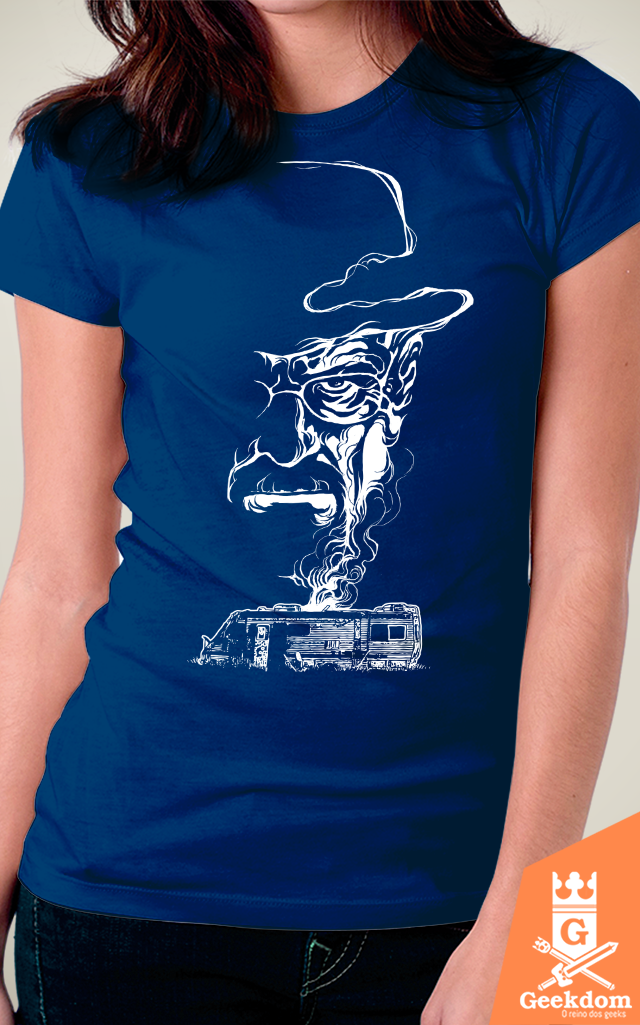 Camiseta Breaking Bad - Fumaça no Deserto - by RicoMambo - comprar online