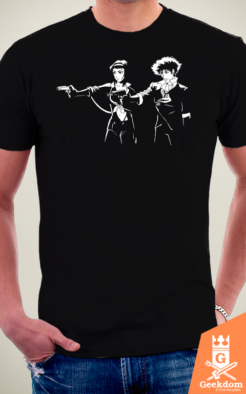 Camiseta Cowboy Fiction - by Ddjvigo na internet