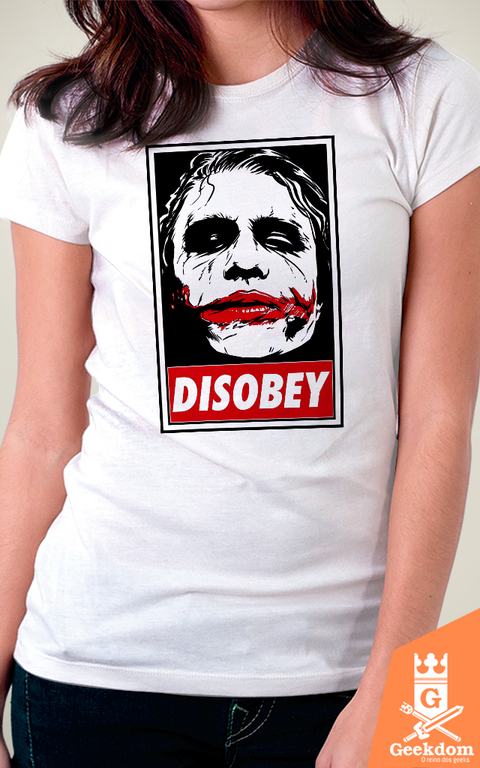Camiseta Coringa - Chaos and Disobey - by Ddjvigo - comprar online