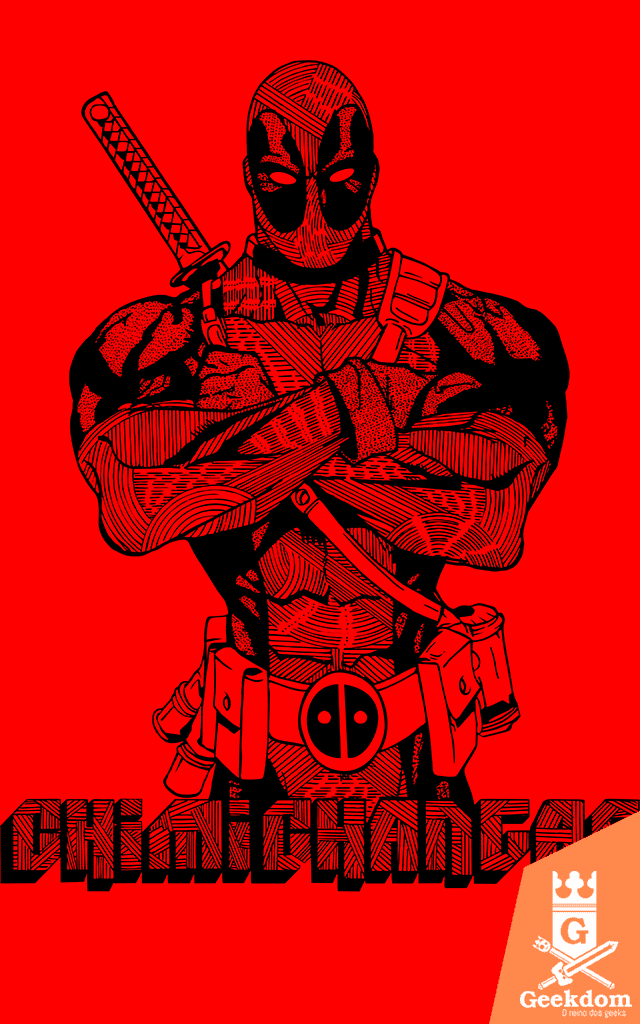 Camiseta Deadpool - by Andrei