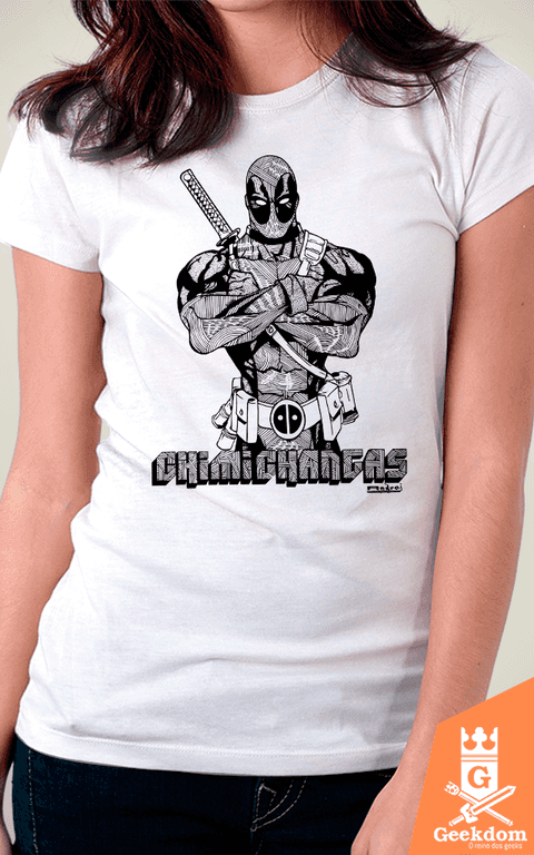 Camiseta Deadpool - by Andrei - Geekdom Store - Camisetas Geek Nerd
