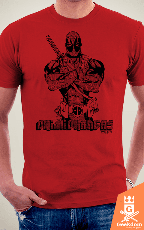 Camiseta Deadpool - by Andrei na internet