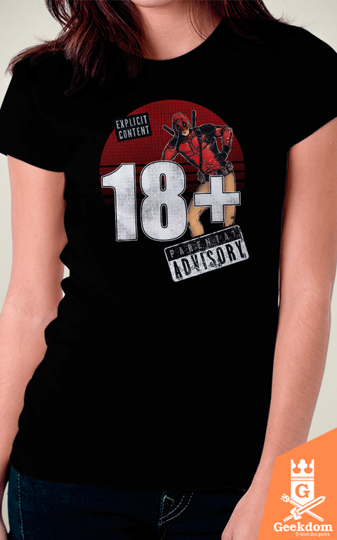 Camiseta Deadpool - Para Maiores - by RicoMambo | Geekdom Store | www.geekdomstore.com
