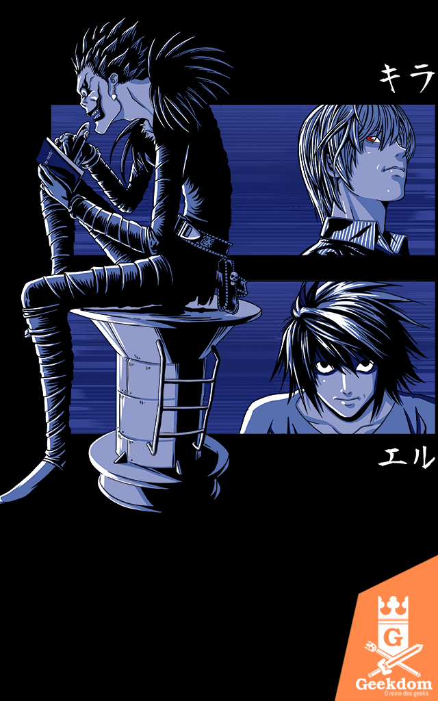 Camiseta Death Note - O Jogo - by Ddjvigo