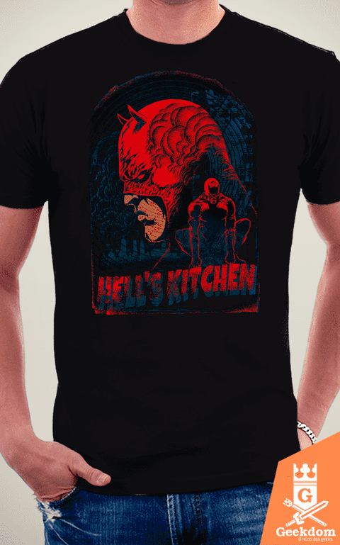 Camiseta Demolidor - Hell's Kitchen - by RicoMambo na internet