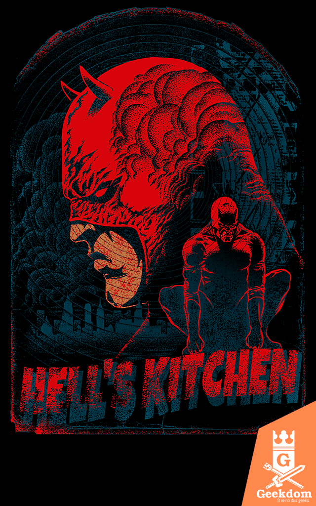 Camiseta Demolidor - Hell's Kitchen - by RicoMambo