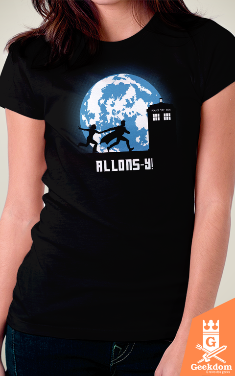 Camiseta Doctor Who - Allons-y! - by Ddjvigo - comprar online