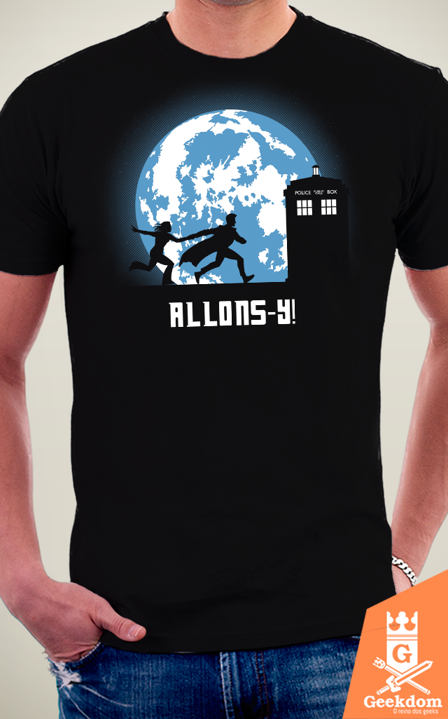 Camiseta Doctor Who - Allons-y! - by Ddjvigo na internet